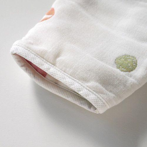 Hoppetta - 蘑菇六層紗3WAY包腳睡袍 5