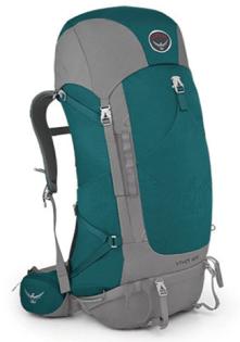 美國 Osprey Viva 65L  透氣登山背包 祖母綠 026065 登山 戶外