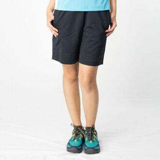 【桃源戶外】Wildland─91663女透氣抗UV排和短褲『黑色』