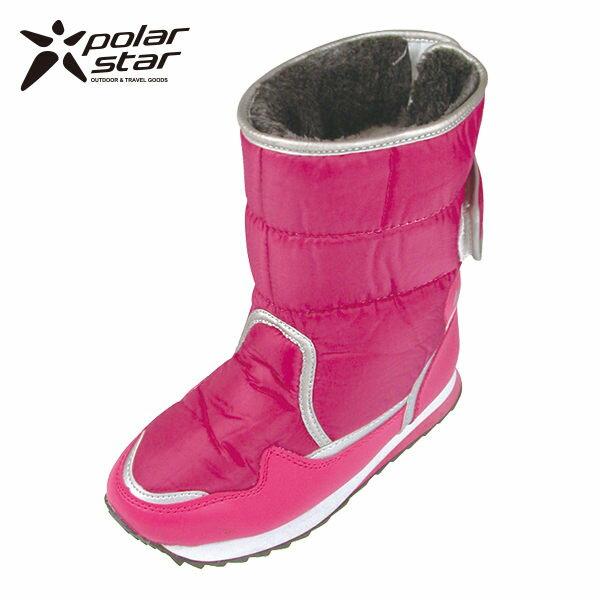【桃源戶外】Polar Star 女保暖雪鞋│雪靴 P13621 『玫紅』