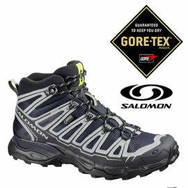 桃源戶外 Salomon X ULTRA 男 Gore-Tex 中筒登山健行鞋 深藍/鋁灰|越野鞋|野跑鞋|登山鞋|戶外|健行鞋 369012