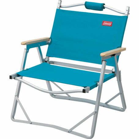 Coleman 輕薄摺疊椅 天空藍 CM-F509