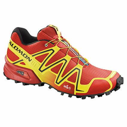 Salomon SPEEDCROSS 3 男輕量越野鞋 紅/螢光黃 362089 (原台中秀山莊)