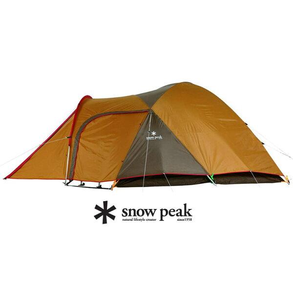 Snow Peak SDE-001 Amenity5人-帳棚組卡其