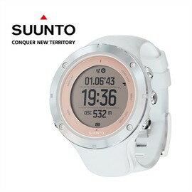 【芬蘭 SUUNTO】AMBIT3 SPORT HR 運動電腦腕錶 SAPPHIRE 玫框 (含心律帶) SS020672