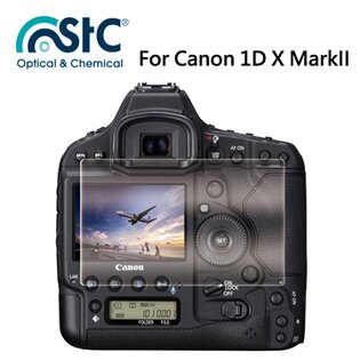 【STC】For Canon 1D X MarkII (2片式) - 9H鋼化玻璃保護貼