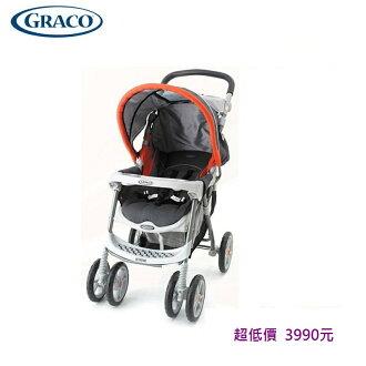 *美馨兒* 美國 GRACO Metro Sport 單向半罩式豪華型嬰兒手推車(經典橘)3990元~
