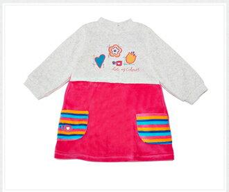 ☆Babybol☆女童冬裝保暖兩件套, 套裝包含(上衣,褲襪)【24101】 3