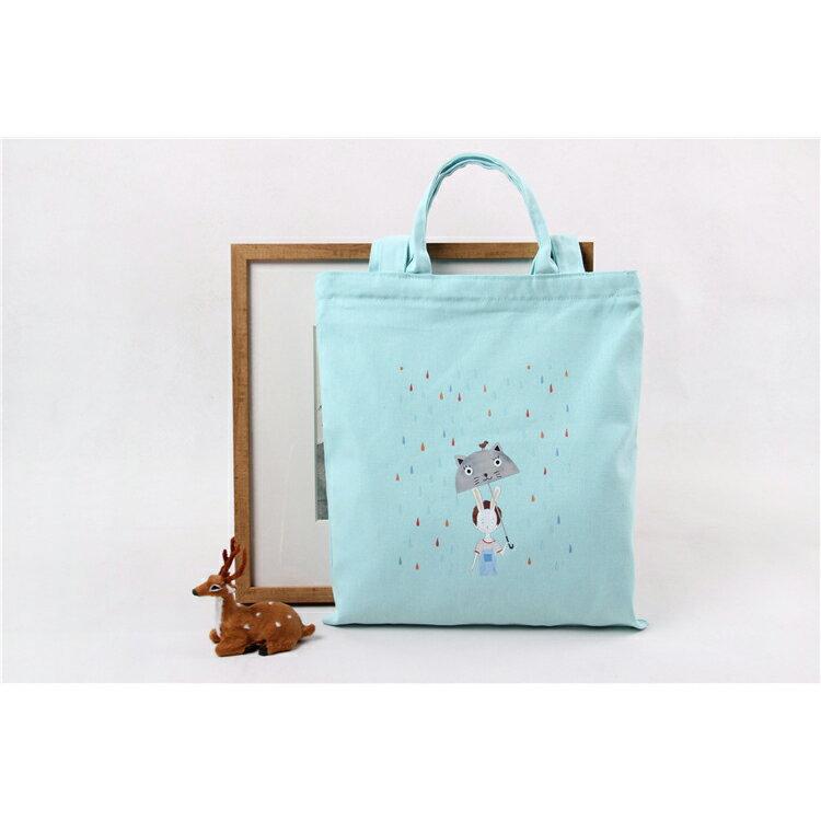 手提包 手提包 帆布袋 手提袋 環保購物袋--手提/單肩/拉鏈【SPA63】 BOBI  10/06 1