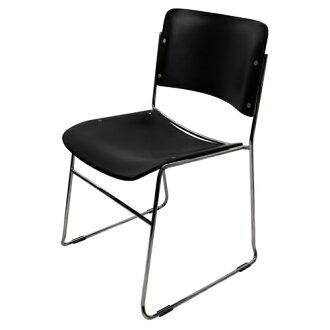 【尚優家居】畢維斯休閒椅/餐椅/辦公椅 (黑色)