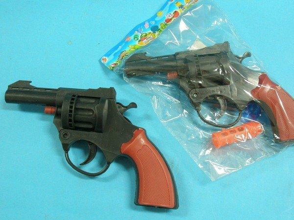 八發槍童玩 玩具左輪槍 玩具槍(中)/一支入{促30}