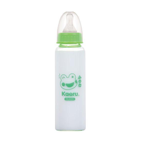 Kaeru哈皮蛙 - 標準口徑玻璃奶瓶 240ml 0