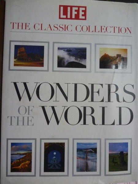 ~書寶 書T2/地理_PMK~Wonders of the World_Editors o