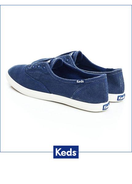 Keds 經典樂活水洗休閒鞋-海軍藍(限量) 套入式│懶人鞋│平底鞋 2