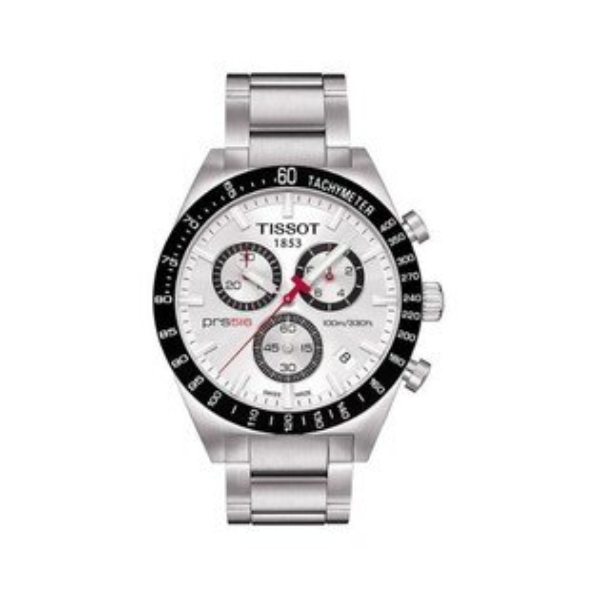 TISSOT天梭T0444172103100賽車PRS516計時腕錶/白面42mm