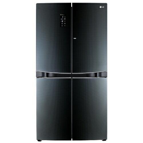 買再送好禮^!LG 樂金 870L門中門魔術空間多門冰箱~高貴黑~GR~DBF80G~~小
