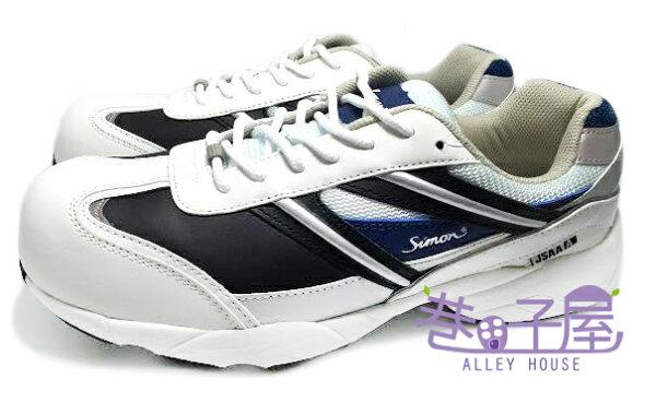 【巷子屋】JSAA A種認定品 最上級的安全機能 男款超輕量塑鋼頭運動鞋 [KA211] 超值價$590