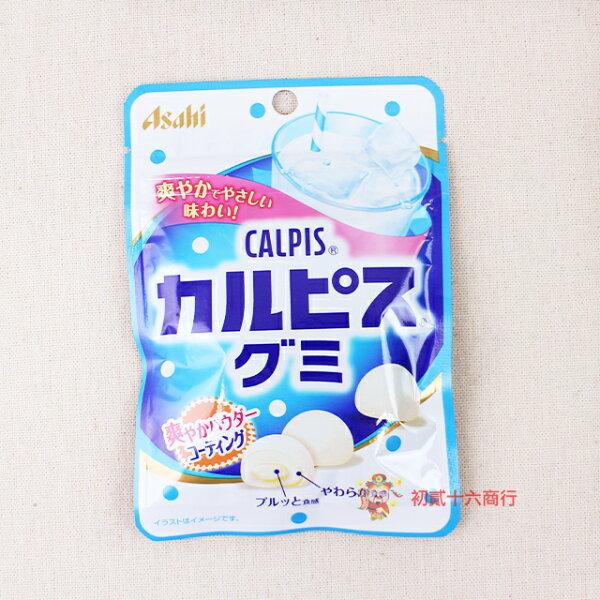 【0216零食會社】日本朝日Asahi-可爾必思軟糖(原味)40g