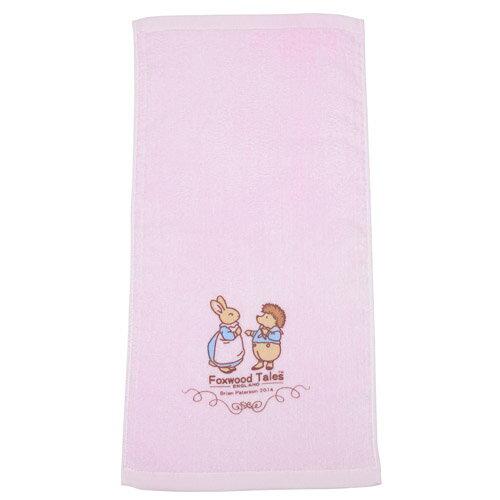 『121婦嬰用品館』狐狸村 純棉嬰兒細絨童巾 0