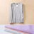 T恤 純色棉內搭上衣V領長袖T恤【MZTX16106】 BOBI  10/27 0
