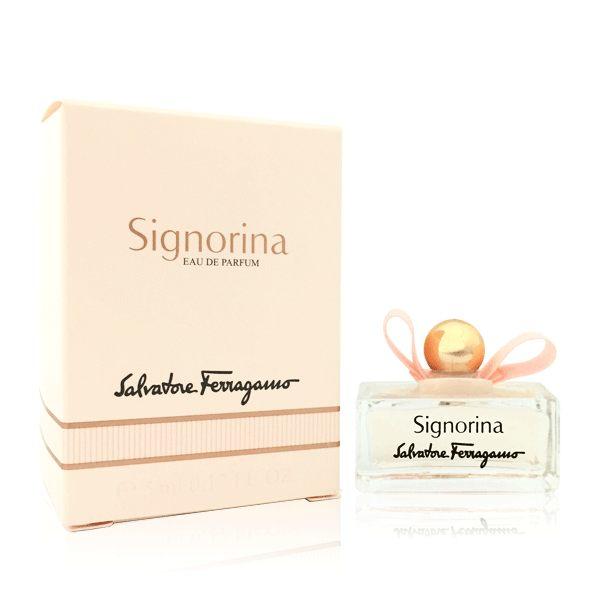 Salvatore Ferragamo Signorina 芭蕾女伶 女性淡香精 5ml 小香《Belle倍莉小舖》