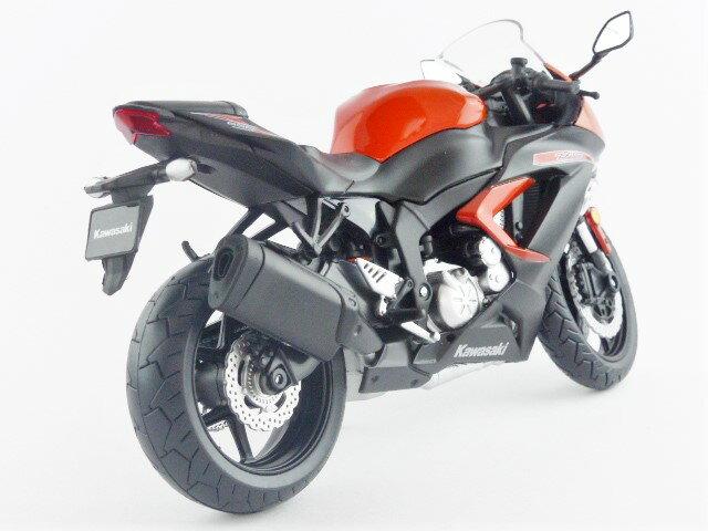 【秋葉園 AKIBA】日本限定品 kawasaki ninja ZX-6R 2014model 摩托車模型 1/12scale 適合一般尺寸公仔 2