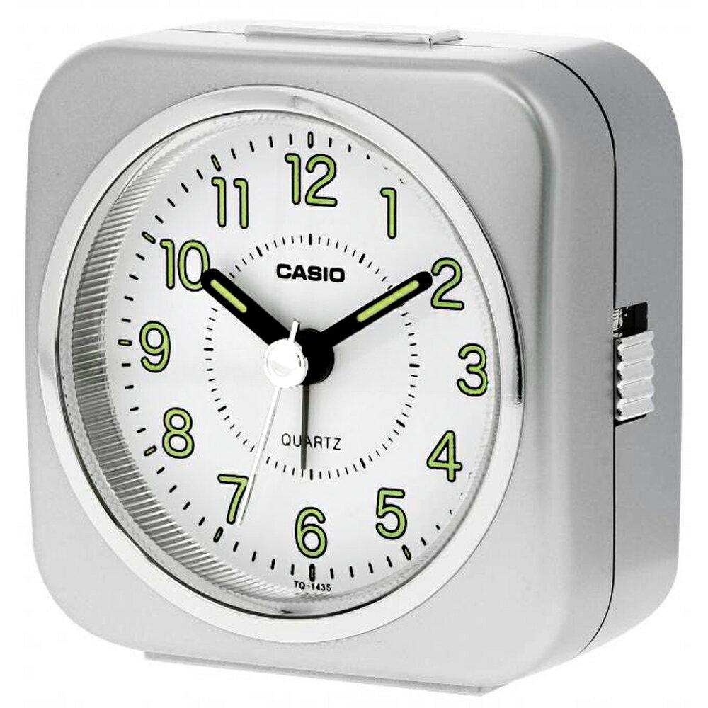 CASIO 卡西歐 TQ-143S 經典復刻版桌上型指針鬧鐘 0