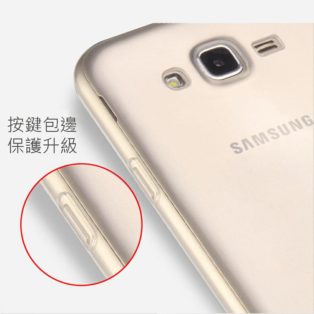 Samsung Galaxy J7 高質感雙料材質 透明TPU+PC手機殼/保護套 1