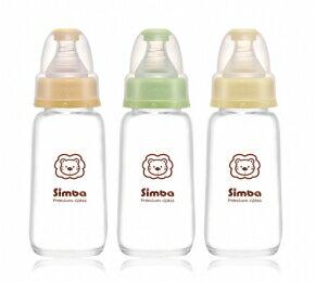 『121婦嬰用品館』辛巴 標準玻璃小奶瓶 150ml 0