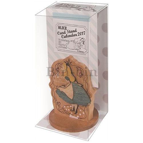 迪士尼 愛麗絲 木製卡立式桌曆 904~766