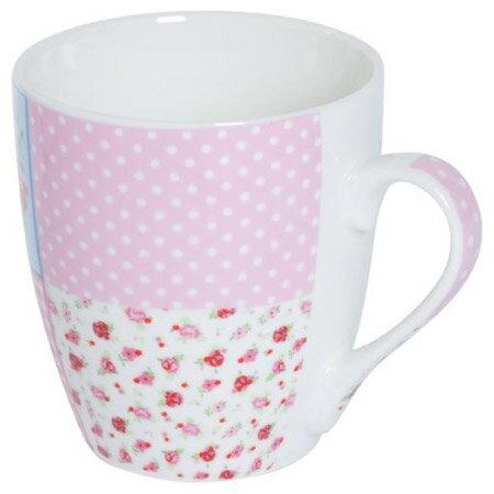 馬克杯 典雅玫瑰 粉