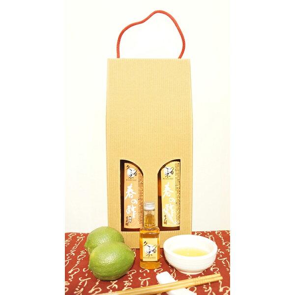 [久留米手作樂]久留米日式醋兩瓶精裝禮盒C(日式香菇素食醋*2)