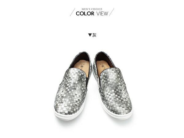 ☆BOY-2☆【NKP-GP56】韓國亮皮編織懶人鞋 1