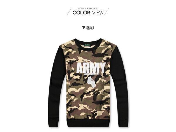 ☆BOY-2☆【JJ224】刷毛迷彩ARMY長T恤 1
