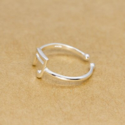 925純銀戒指開口戒~年輕俏麗簡單率性七夕情人節 女飾品73dt280~ ~~米蘭 ~