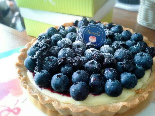 6吋北海道乳酪藍莓塔