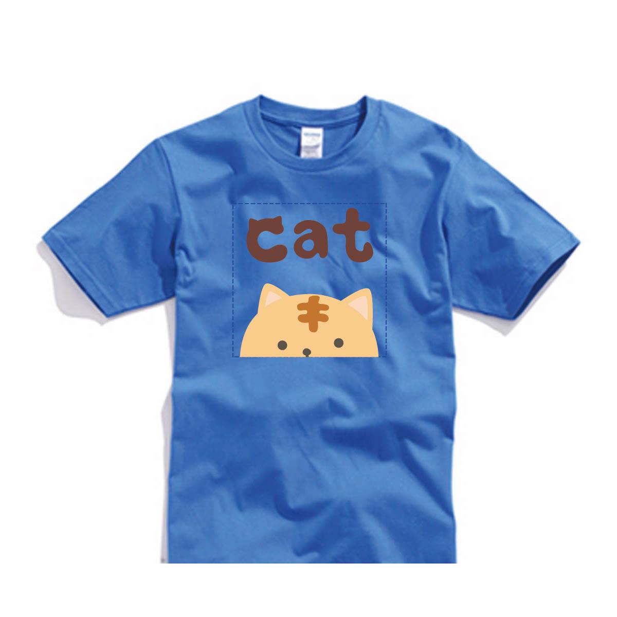 ✨ 喵星2系列✨自己的T恤自己做-色T!100%純棉台製棉T素材!一件也可以做!多件另有優惠!歡迎團體訂做!BSP喵星系001_CAT_A - 限時優惠好康折扣