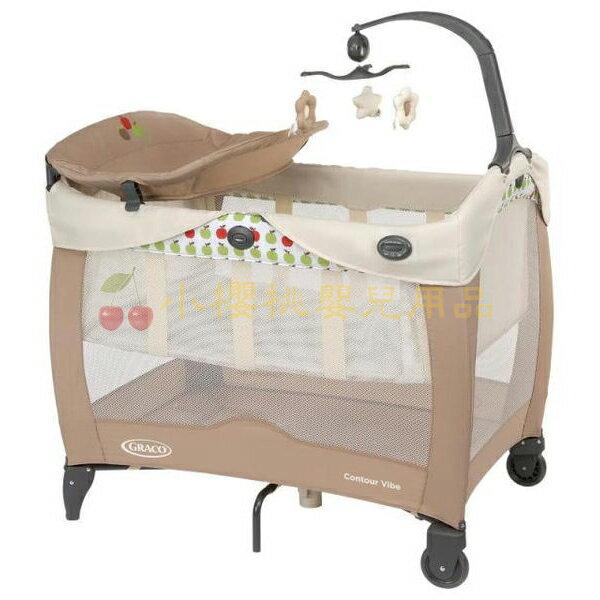 Graco--Contour Electra Vibe舒適嬰幼兒電動安撫遊戲床