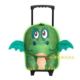 德国okiedog---立体 儿童动物造型 拉杆 大行李箱 大手提箱【河马】