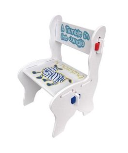 @小櫻桃嬰兒用品@kikimmy--歐風斑馬椅(有椅背) 兒童書桌椅