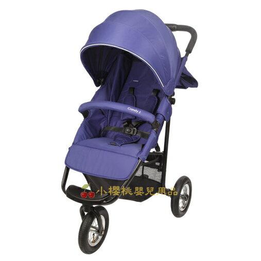 MAMALOVE--豪華三輪手推車 藍紫色 同日本AirBuggy COCO款