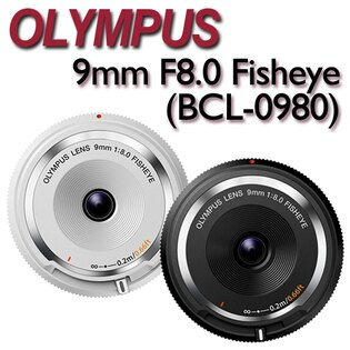 OLYMPUS 9mm F8 魚眼機蓋鏡頭 餅乾鏡(BCL-0980)【公司貨】