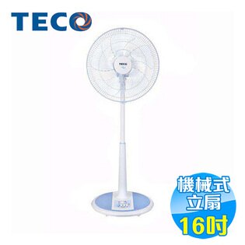 東元 TECO 16吋電風扇 XA1669AB