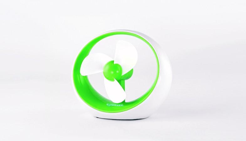 樂點 ~laclick USB螺旋涼風扇~綠 PC079~1