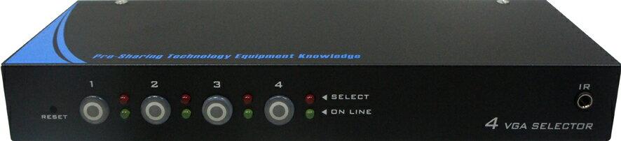 AviewS-4 PORT 電腦螢幕切換器/PSTEK VS-104E 0