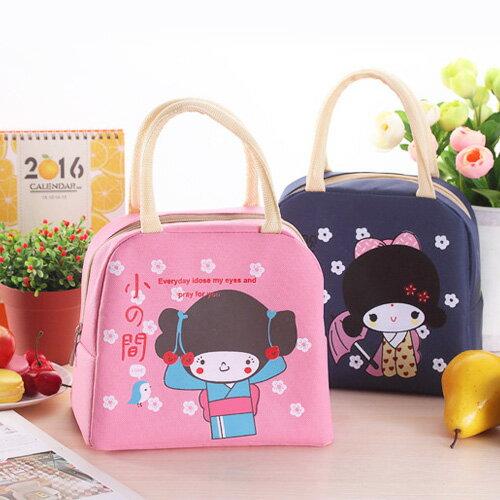 環保購物袋 卡通印花保溫手提袋便當袋【MJS007】 BOBI  12/01 0