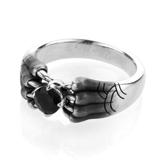 【海外訂購】【Bloody Mary】Aslan 阿斯蘭獅爪純銀戒指 尖晶石(BMR1386-Bsp) 0
