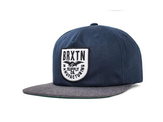 【 BRIXTON 】街頭流行棒球帽 - Alliance Snapback帽款 - 深藍