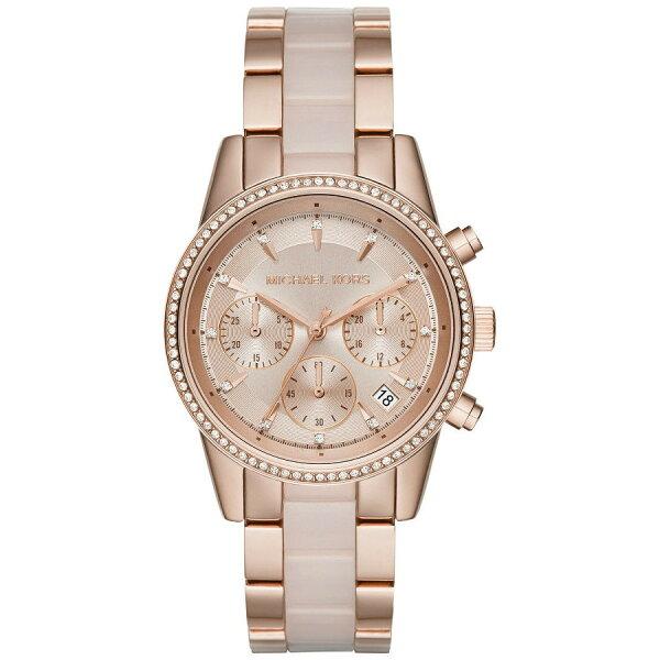 *限時5500免運* [MK全系列5折] 全店滿額再現折【MICHAEL KORS】正品 玫瑰金 強化鏡面  三眼  女錶 腕錶 石英錶   MK6307