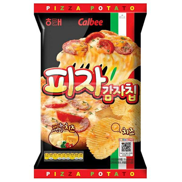 韓國餅乾 海太Calbee 卡樂比 披薩洋芋片